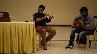 Abhi mujh mein kahin instrumental (flute + guitar) IRL-winterfest 2017