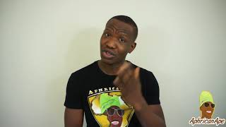 How guys apologize after getting Caught... Some Whites vs Some Africans - Aphricanace Comedy