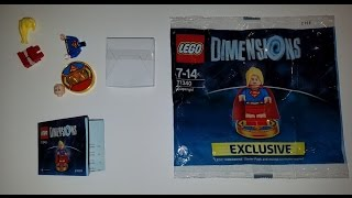 Lego Dimensions Supergirl Exclusive Playstation 4 Starter Pack Polybag 71340 Original