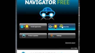 Installatie Navigator Free