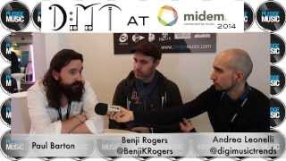 Midem 2014 Pledge Music interview with CEO Benji Rogers and A&R Paul Barton