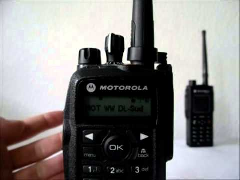 Demonstration Motorola DL Roaming Codeplug MOTOTRBO und HYTERA