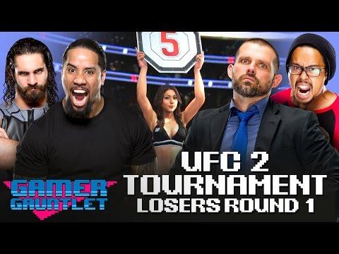 Seth Rollins vs. Jey Uso & Jamie Noble vs. Mikaze: UFC 2 Tournament Losers Bracket — Gamer Gauntlet