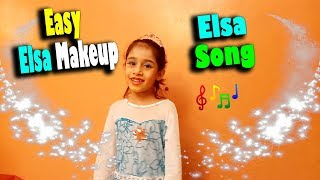 Elsa makeup tutorial | Elsa song | Toppa