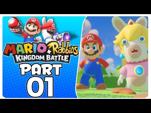 "Mario + Rabbids Kingdom Battle - Part 1 | World 1-1 ""Unlikely Heroes"""