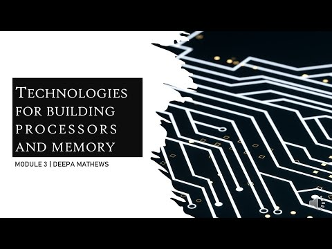 KTU | MCA | 20MCA103 | Technologies for building processors and memory