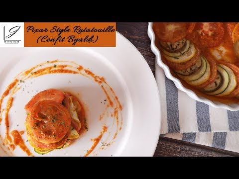 Pixar Style Ratatouille (Confit Byaldi) | J Kitchen