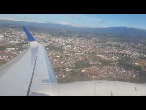 Despegue vuelo CM787 Aeropuerto Juan Santamaria