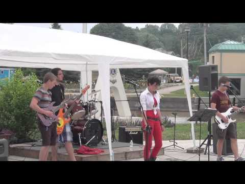 Cobalt 27 Covers Bon Jovi Dead Or Alive At Port Stanley Canada Day Festivities 2013
