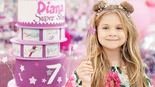 Pesta Ulang Tahun Diana Yang Ke 7! Selamat Ulang Tahun Diana!