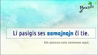 3 2 SEMAJNO substantivo em Esperanto