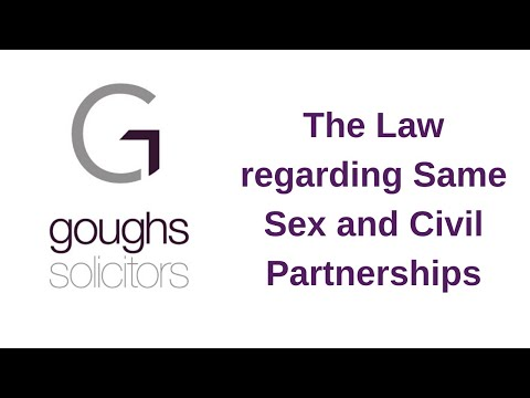Family Lawyers on Same Sex and Civil Partnerships