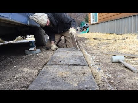 Download Youtube: DIY PROJECT -- Recycled Concrete Tire Tracks