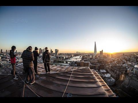 Free Climbing Tate Modern Tower