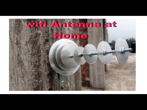 Homemade Diy Long Range Wifi Antenna