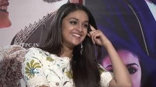 Actress Keerthy Suresh and Varalakshmi Diwali Special Interview About Sarkar | TFPC