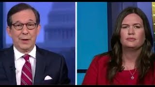 Fox host calls out Sarah Sanders to her face over ABSURD Trump defense
