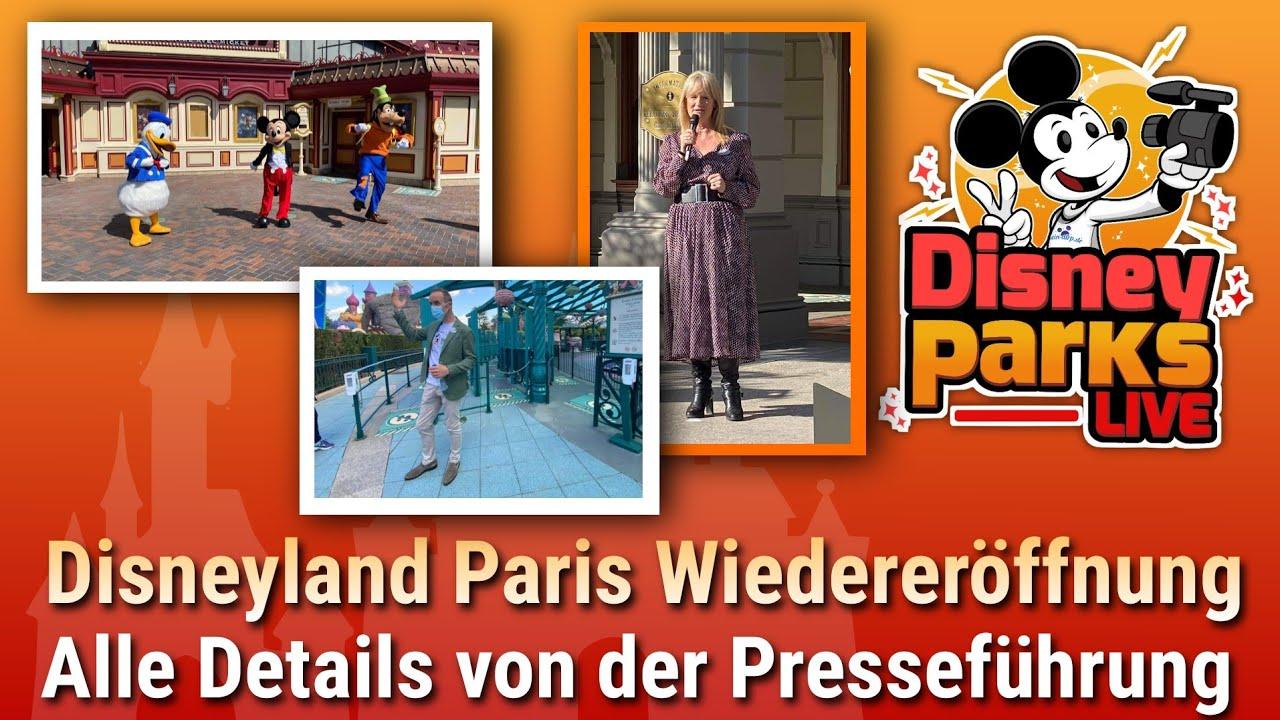 Disneyland Paris Wiedereröffnung: Presseevent, alle Details zu Sicherheit & Hygiene | dein-dlrp Vlog