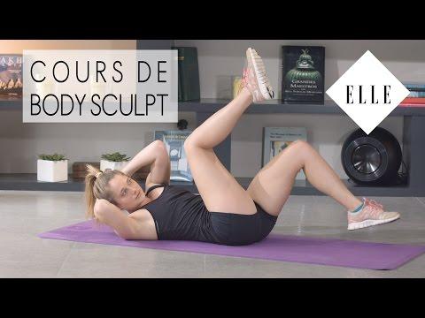 Cours de Body Sculpt avec Marine Leleu┃ELLE Fitness