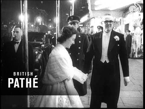 """Helen Of Troy"" Royal Film Premiere (1956)"