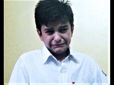 Sachin Choudhary as Nana Patekar Ji in his famous scene from Wajood Movie / child nana patekar
