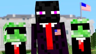 Minecraft mobs if they became President