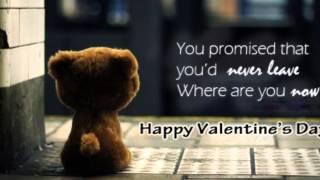 Valentine tsis muaj koj - tsab mim xyooj