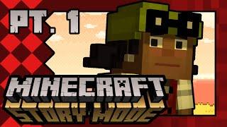 Minecraft Story Mode | Ep. 2, Ch. 1-2: Snib-Snobbery