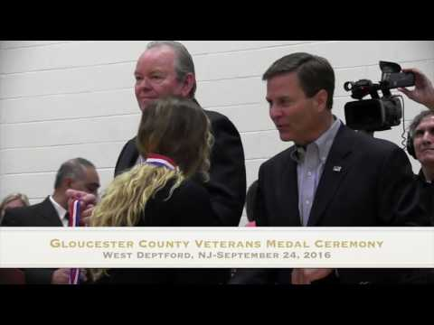 Gloucester County Veterans Medal Ceremony