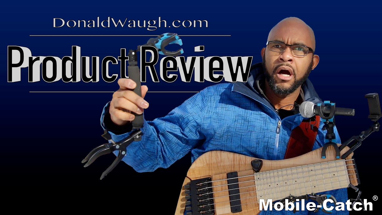 Mobile-Catch Black Edition Pro Capo guitar holder