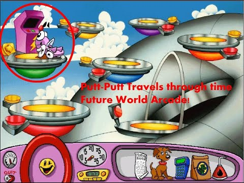 Putt-Putt Travels through time arcade music (the never ending game!) |