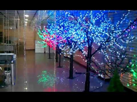 Arboles navidad led youtube - Luces arbol de navidad ...