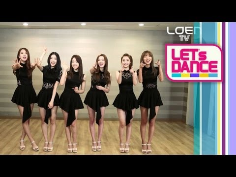 Download Let's Dance : Dalshabet(달샤벳)_Be Ambitious(내 다리를 봐) [ENG/JPN SUB]