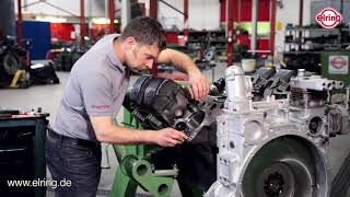 Zylinderlaufbuchsenring OM500 Lkw | Installation Cylinder liner seal ring OM500 (truck)