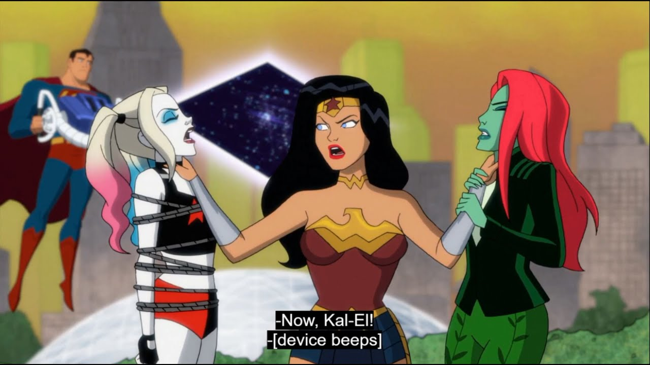 """Download Harley Quinn 1x12 """"Justice League send Harley and Crew to Phantom Zone"""" Subtitle/HD"""