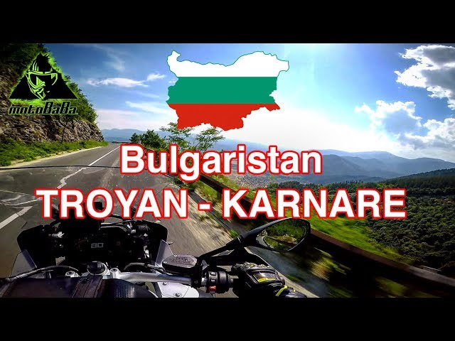 Bulgaristan Troyan - Karnare, BMW R1200 GS Adv, Motovlog