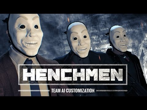 [Payday 2] Henchman AI Customization