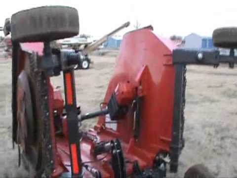 Bush Hog 12715 Rotary Cutter Sold On Els Youtube