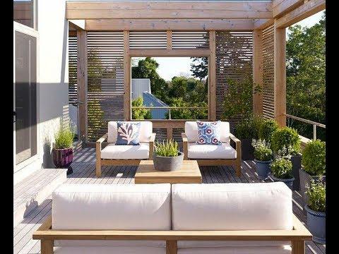 40 ideas de decoracion de terrazas de casas