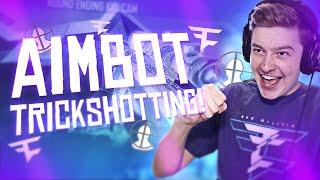 Aimbot Trickshotting w/ FaZe! - #2 (INSANE BO2 TRICKSHOTS)