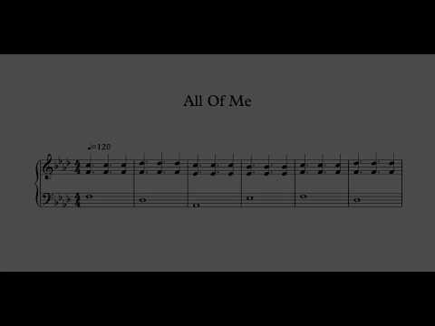 John Legend - All Of Me - Note-for-Note Piano Transcription With Sheet Music Download