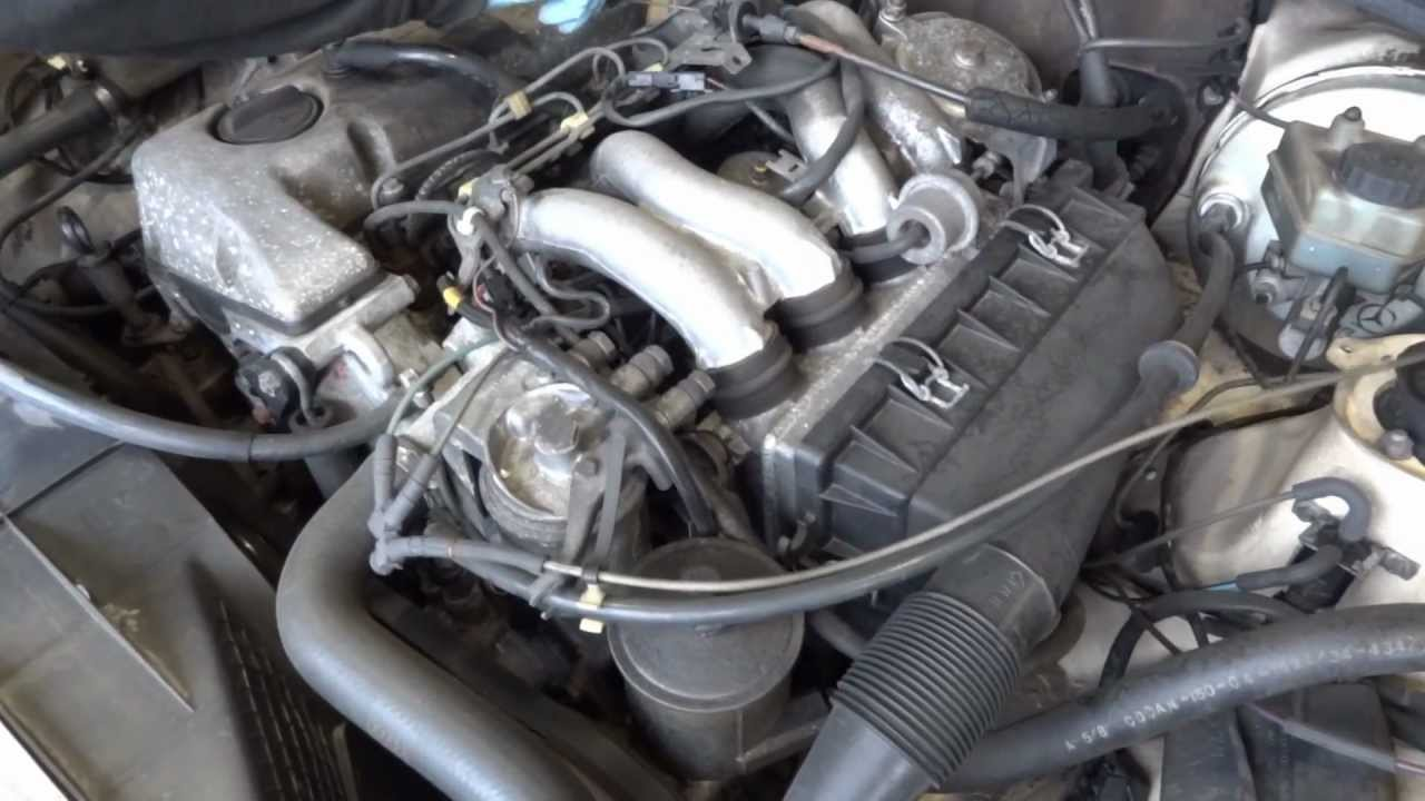 1985 mercedes benz 190d diesel engine with 147k miles for Mercedes benz diesel engines