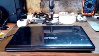 Результат ремонта ноутбука Asus K52D. Часть 3