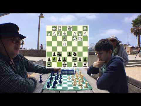 Celebrity Chess Master Kurt Hugo Schneider vs Hustler The Great Carlini
