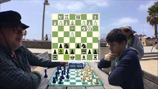Celebrity Chess Master Kurt Hugo Schneider vs. Hustler The Great Carlini!