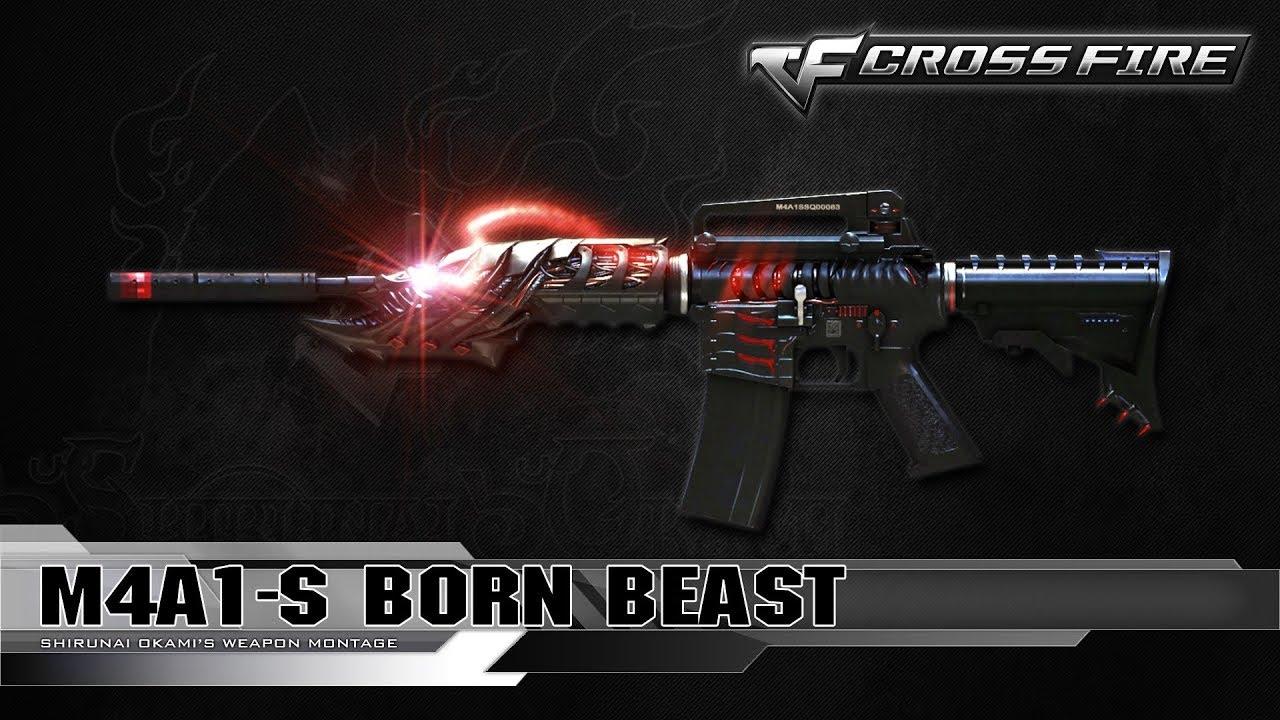 Chia Sẻ Nick CF | Acc 3 VIP M4A1 S Born Beast & B.C Axe Beast & Nhân Vật  Sonoko