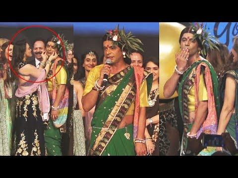 Sunil Grover As Rinku Bhabhi Adorably Walks The Ramp At Bombay Times Fashion Week 2019