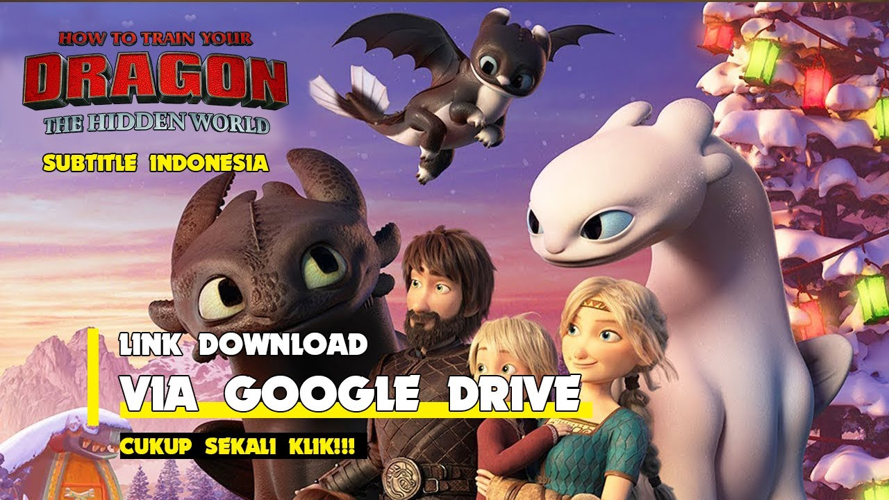 How To Train Your Dragon 3 Full Movie Subtitle Indonesia Youtube
