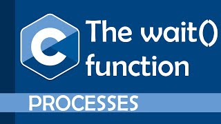 Waiting for processes t๐ finish (using the wait function) in C