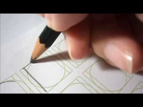 Skeleton Roman Calligraphy – O Group (The letters O, C, D, G, and Q)